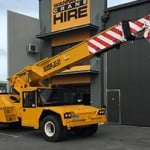 A mobile crane at the Wanneroo Crane Hire office