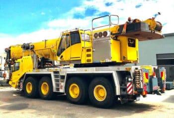 100T Grove Crane on a truck